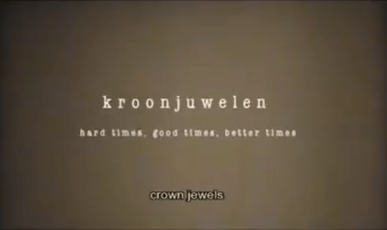 Kroonjuwelen – Hard Times, Good Times, Better Times