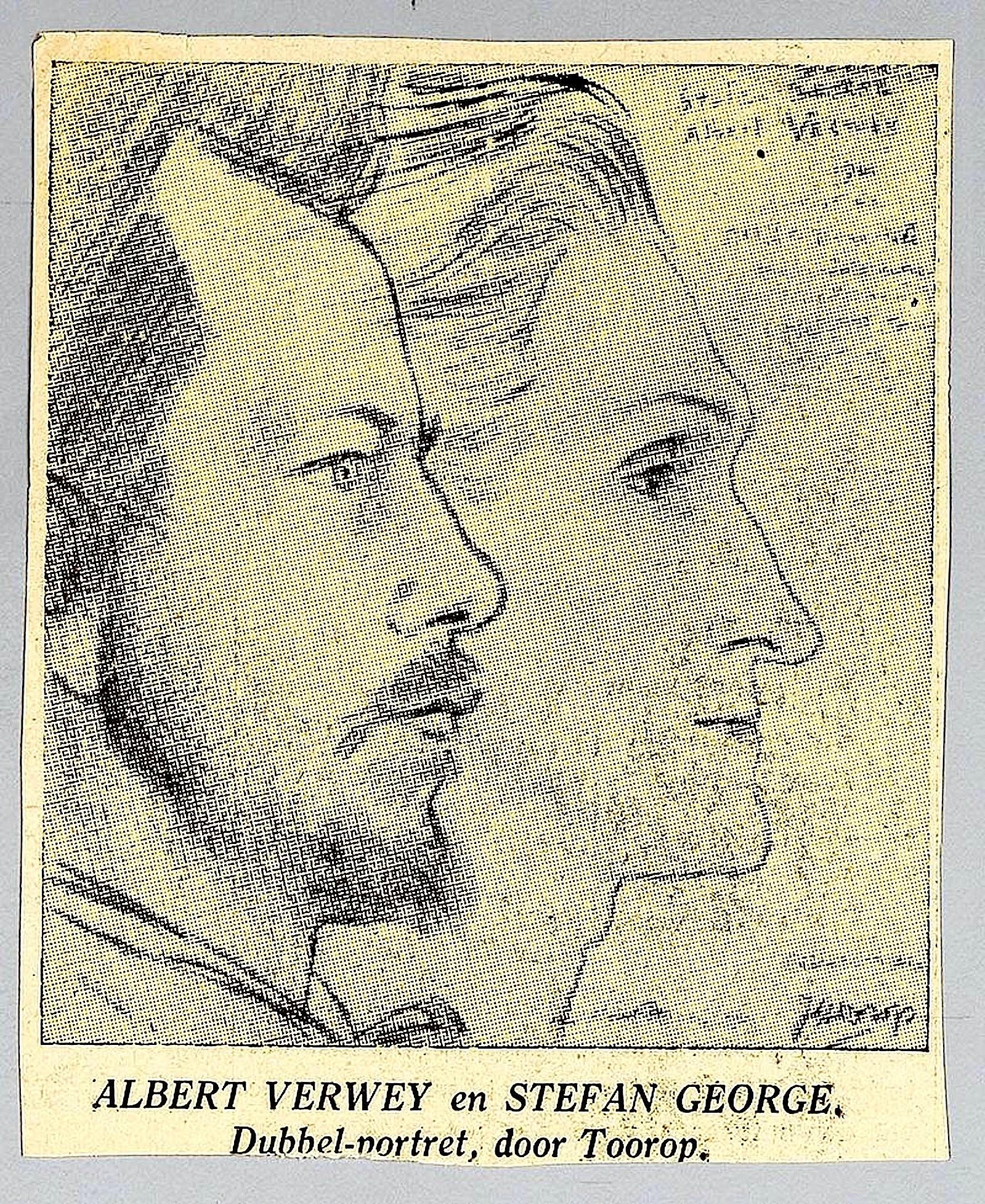 Jan Toorop – Albert Verwey & Stefan George