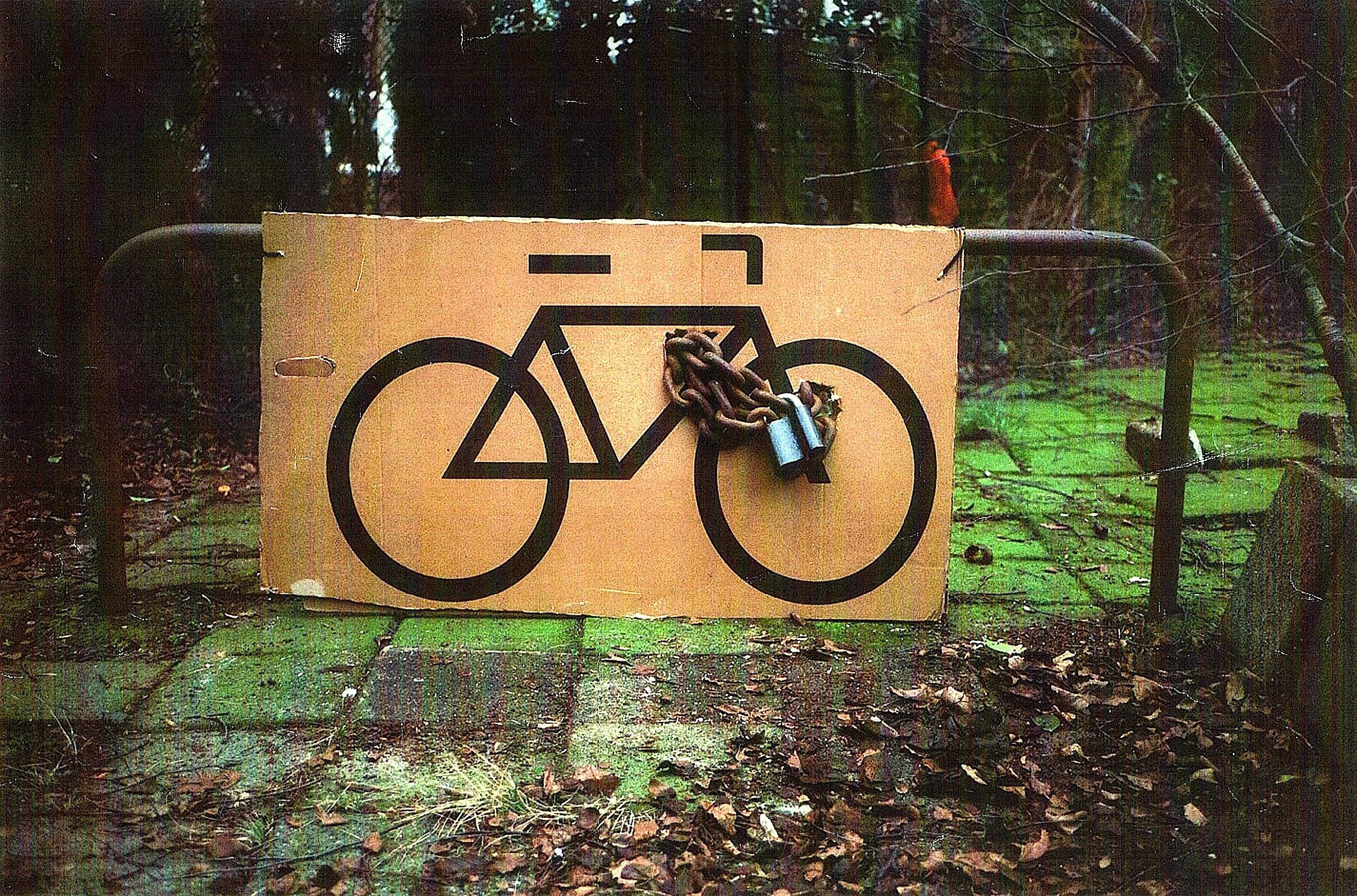 The bike of Harry Hoogstraten (foto Daan van Golden)