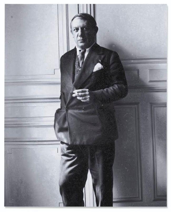 Pablo Picasso (foto Rudolf Stingel)