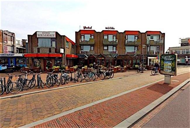 Hotel Wienerhof in Den Helder (foto Cyclomedia)