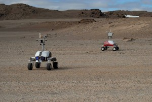 "NASA's ""baby rovers"" taking pictures in Devon Island, Canada"