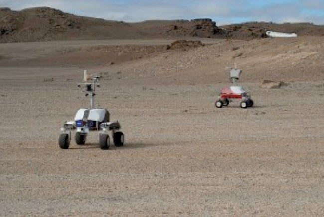 """NASA's """"baby rovers"""" taking pictures in Devon Island, Canada"""