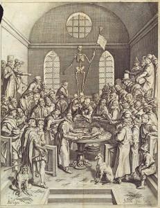 Jacob de Gheyn – Voorlezing van de anatomie