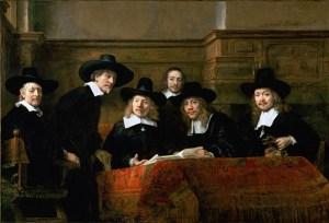 Rembrandt – De Staalmeesters