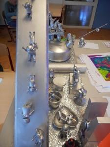 Zilver spuiten (foto De Dijk)