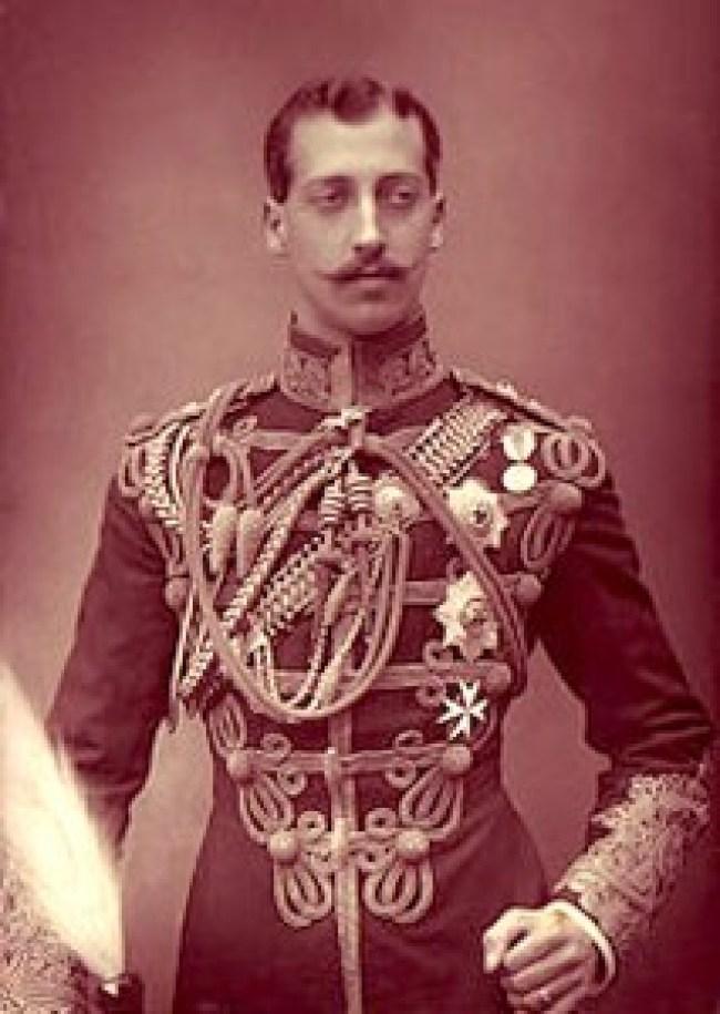 Eddy Prince Albert Victor Duke of Clarence (1864-1892 (foto William & Daniel Downey)