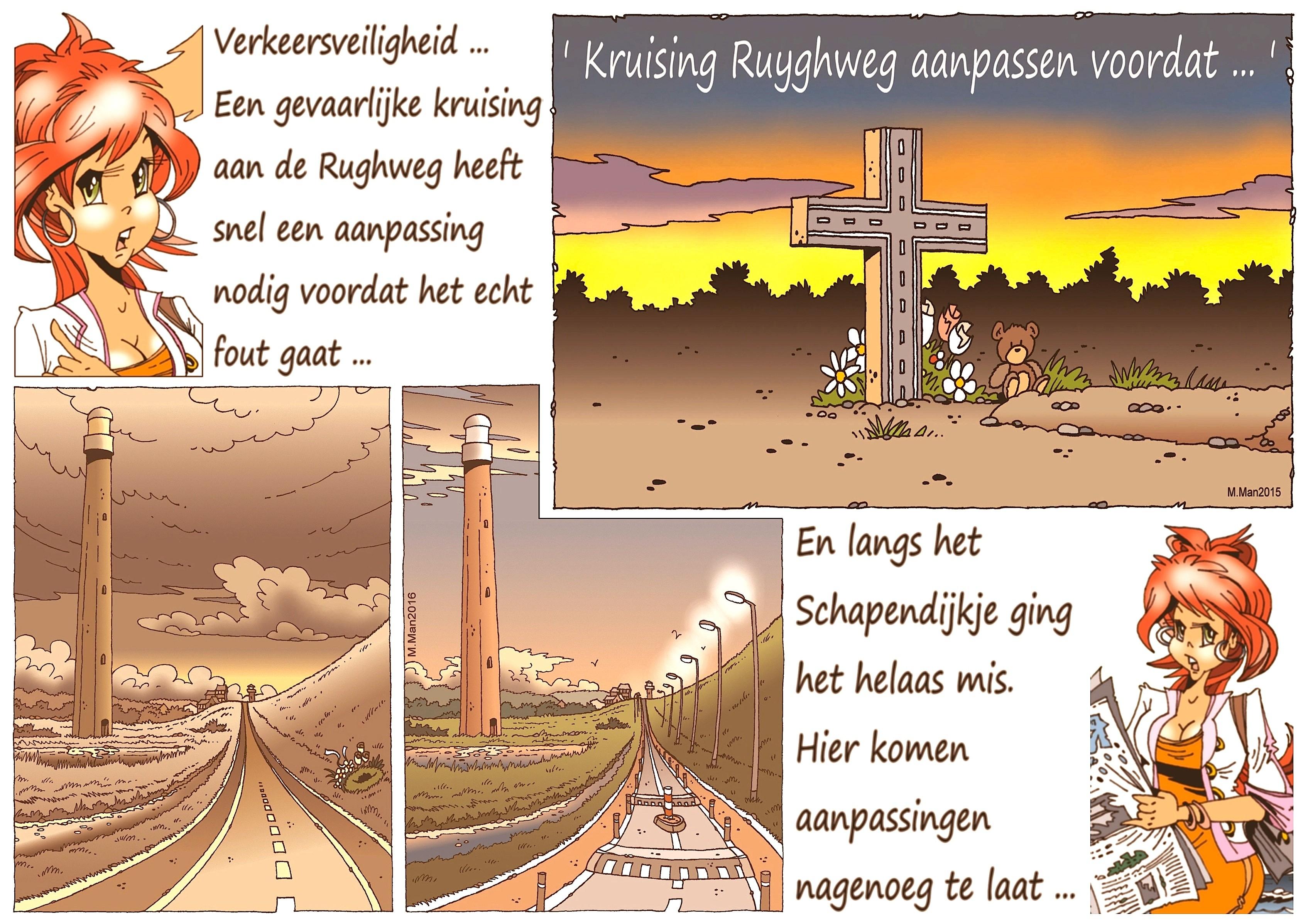 Martin Man – Sofietje's Helders Weekblad Cartoon-Chronicles (27): Verkeersveiligheid