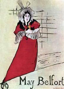 Henri Toulouse Lautrec - May Belfort