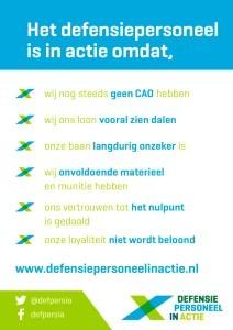 Poster (foto Defensie Personeel In Actie)