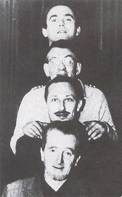 K Schippers, J Bernlef, G Brands & J Hanlo (foto DBNL)