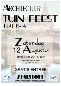Affiche Tuinfeest