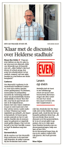 Helderse Courant, 1 augustus 2017