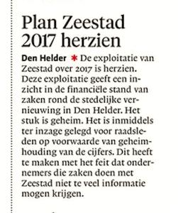 Noordhollands Dagblad, 31 augustus 2017