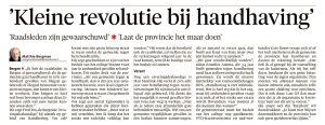 Alkmaarse Courant, 31 augustus 2017
