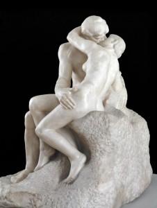 Auguste Rodin - The Kiss (foto Tate)