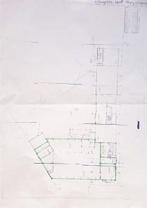 Bijlage 1 situatietekening van de expositieruimte
