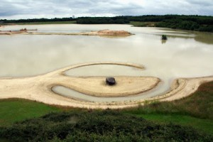 Robert Smithson - Broken Circle (foto Blauwe Golven Arnhem)