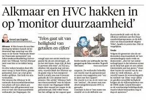 Alkmaarse Courant, 24 oktober 2017