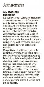 Helderse Courant, 14 oktober 2017