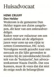 Helderse Courant, 328 oktober 2017