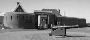 Het gerestaureerde Fort Kijkduin