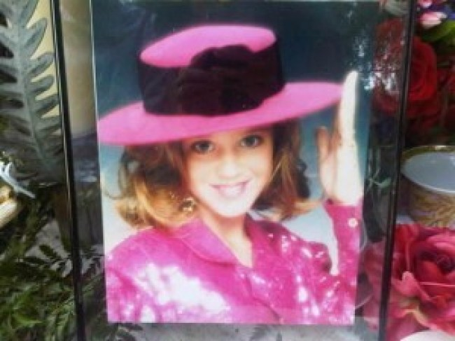 Katy Perry as a child
