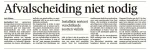 Noordhollands Dagblad, 3 oktober 2017