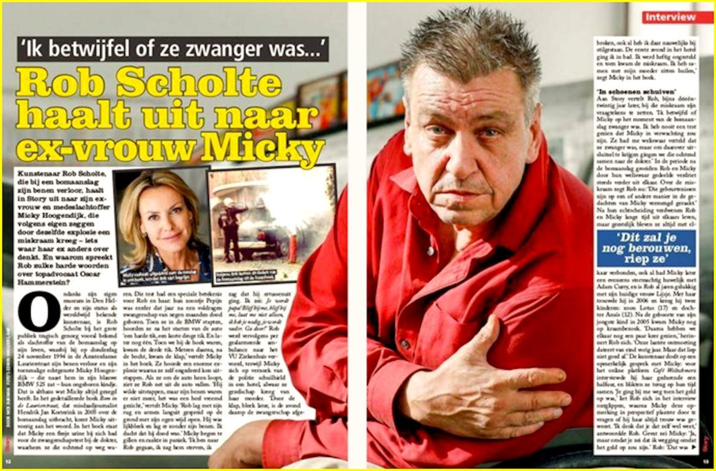 Rob Scholte in de Story (foto Misdaadjournalist)