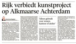 Alkmaarse Courant, 13 november 2017