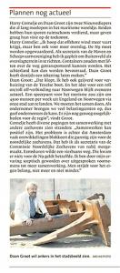 Arie Booy - Plannen nog actueel, Helderse Courant, 29 december 2017