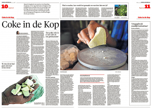 Bo-Anne van Egmond - Coke in de kop, Helderse Courant, 30 december 2017