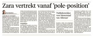 Alkmaarse Courant, 28 december 2017