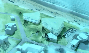 Ontwerp Hotel Nassau in Bergen aan Zee (foto Anne Klijnstra)