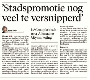 Alkmaarse Courant, 30 december 2017