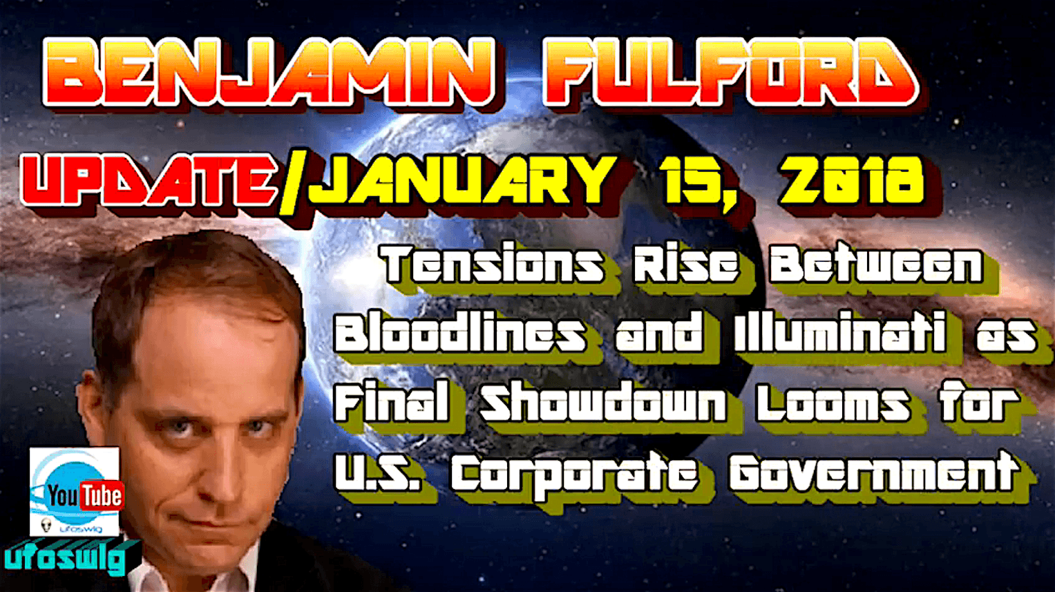 Benjamin Fulford Update (foto YouTube)