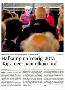 Alkmaarse Courant, 9 januari 2018