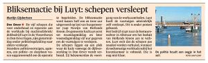Helderse Courant, 9 februari 2018