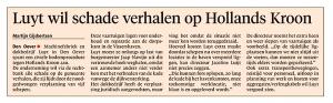 Helderse Courant, 22 februari 2018