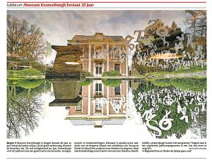 Matthie Bergman - Museum Kranenburgh bestaat 25 jaar, Alkmaarse Courant, 30 januari 2018