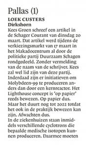 Schager Courant, 24 maart 2018