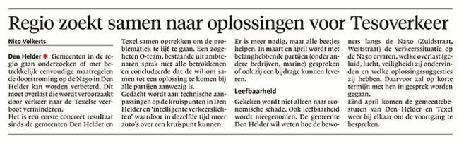 Helderse Courant, 20 maart 2018