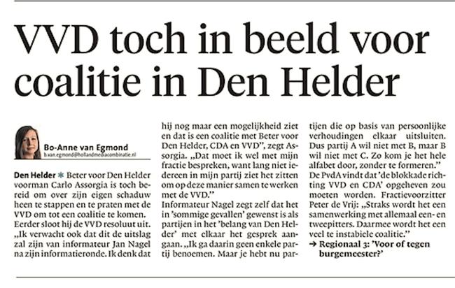 Helderse Courant, 23 april 2018