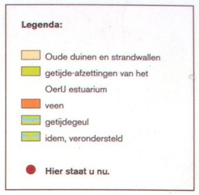 Legenda (foto PWN bij Kruisberg = rode stip)