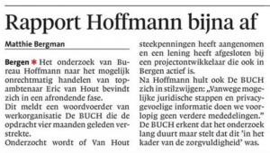Alkmaarse Courant, 26 juli 2018