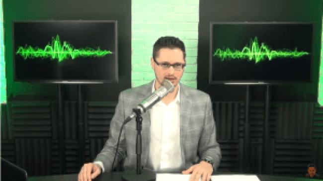 Screenshot Kyle Kulinski van Secular Talk