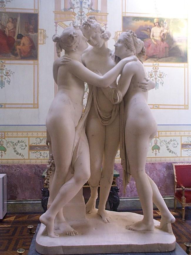 Antonio Canova - De drie Gratien