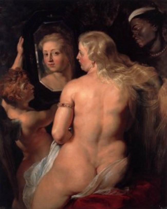 Pieter Paul Rubens - Venus at a Mirror