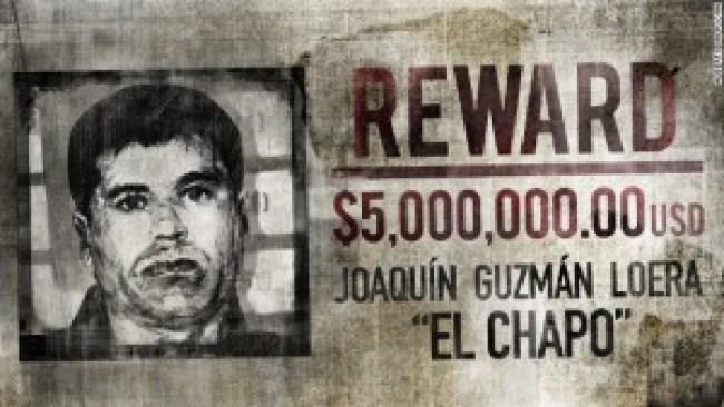 """Reward $ 5.000.000.00 USD Joaquín Guzman Loera """"El Chapo"""""""