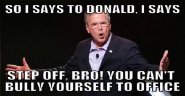 Jeb Bush humiliated (foto BeforeIt's News)